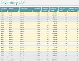 inventory management spreadsheet template excel business inventory