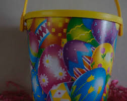 easter pails easter pail etsy
