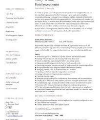 Reception Resume Samples Custom Admission Paper Editor Sites For Cover Letter