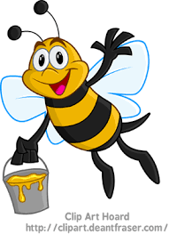 bee clipart clip hoard honey bee clipart