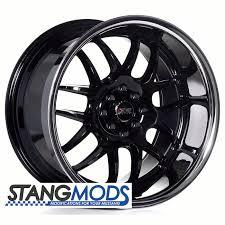 17x10 mustang wheels mustang xxr526 gloss black wheels 17x10