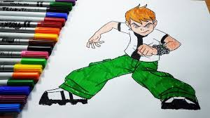 ben 10 coloring pages ben 10 coloring book learning colors for