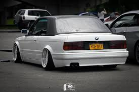 bmw e30 stanced bmw 3 series e30 convertible bmw pinterest e30