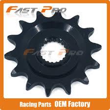 motocross gears 14t front sprocket yz125 yzf250 yz250f wr250f wr250r 08 14 wr250x