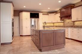 large custom kitchen island frameless cabinet construction with a