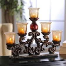 candle runners scrolling heart tiered candle runner vignettes