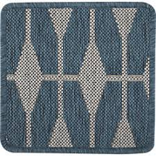 Crate And Barrel Indoor Outdoor Rugs Aldo Ii Blue Indoor Outdoor Rug Crate And Barrel