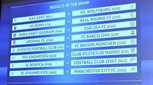 Jadwal Liga Chion Jadwal 16 Besar Liga Chion 2016 Arsenal Vs Barcelona