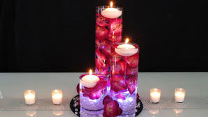 table centerpieces with candles candle flower centerpieces wedding wedding party decoration for