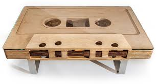 cassette tape coffee table for sale jeff skierka s mixtape table now in production core77