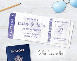 boarding pass save the date boarding pass save the dates blue weddings