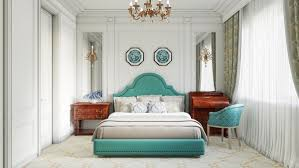 design chambre à coucher chambre à coucher lit bleu design chambre coucher alexey filatov