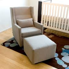 Easy Chair With Ottoman Design Ideas Wonderful Decorating Ideas Using Rocking Chairs For Baby Room In