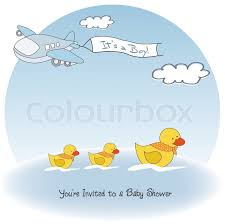 airplane baby shower beautiful background with a airplane baby shower card stock