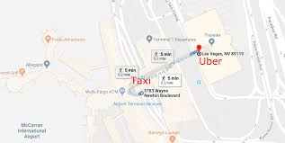 Mccarran Airport Map Ces Painfully Exposes Uber And Lyft U0027s Big Convenience Problem
