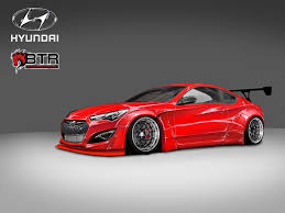 hyundai genesis coupe car 2014 hyundai genesis coupe shows the right type of sema style