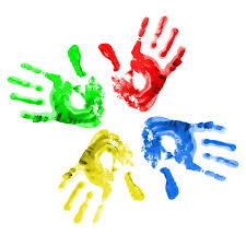 paint hands pei kids