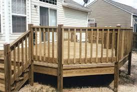 easy deck designs fence post caps wood deck railing design ideas