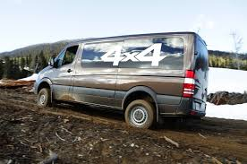 nissan cargo van 4x4 2015 mercedes benz sprinter 4x4 review