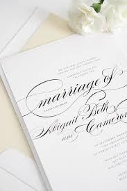 beautiful wedding invitations beautiful wedding invitations with swirls and swashes wedding
