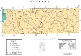 Map Of Florida And Alabama by Geneva County Alabama History Adah
