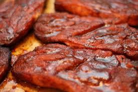 smoked pork steaks