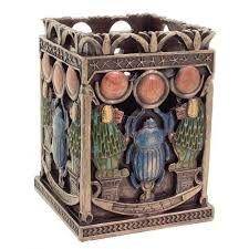 home decoration statues egyptian home decor scarab egyptian green trinket box at