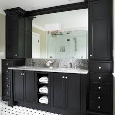 Gray And Black Bathroom Ideas Best 25 Black Cabinets Bathroom Ideas On Pinterest Black