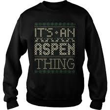 its an aspen thing tshirt holidays thanksgiving