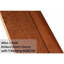 allen roth hickory warm cherry 427176 engineered hardwood flooring