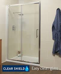 Shower Door 720mm K2 1200 Sliding Shower Enclosure