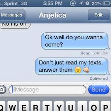 Text Message Meme - 15 best text message responses when people don t text back