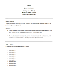 Sample Resume Objectives For Customer Service by Sample Objective 12 Good Resume Examples For Customer Service