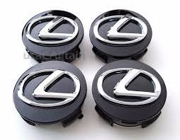 lexus ls430 hub cap new lexus wheel center caps set of 4 62mm black base chrome oval