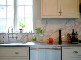 porcelain tile backsplash kitchen carrara backsplash marble kitchen traditional with window