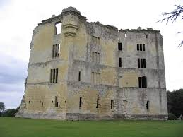Old Castle Curtain Wall Old Wardour Castle South West Castles Forts And Battles
