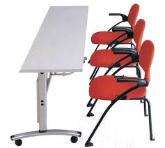 Folding Conference Tables Guangzhou Office Furniture Mobile Office Folding Training Table