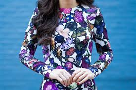 cynthia rowley blouse winterflora dressed up deniz