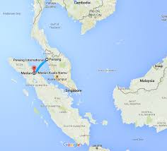 Thailand World Map by Maps Of Our Recent Travel From Thailand To Malaysia Then