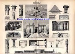 geschichte der architektur orig farblitho 1893 kultur der metallzeit i