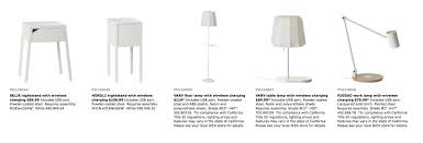 Nightstand Lamp With Usb Port Ikea Releases Catalog Of Furniture That Will Charge Your Phone For