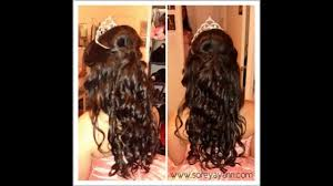quinceanera dresses hairstyles 2014 youtube
