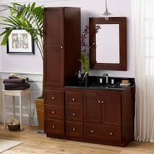 36 u201d shaker bathroom vanity set with ceramic sink and medicine