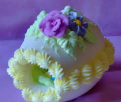 sugar easter egg beautiful panoramic decorated sugar easter egg with enchanting
