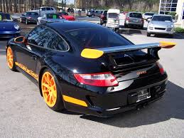 black porsche gt3 2007 black u0026 orange porsche gt3 rs porschebahn weblog