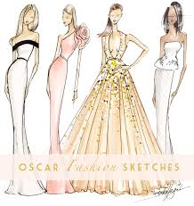 fabulous doodles fashion illustration blog by brooke hagel red