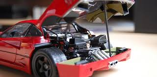 model f40 review kyosho f40 light weight lm wing high end