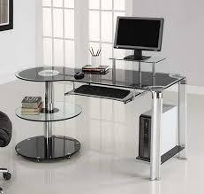 Glass Modern Desk Ikea Modern Glass Desk Modern Glass Desk Office Home