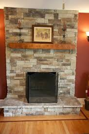 covering ugly stone fireplace wall panels tub veneer to cover