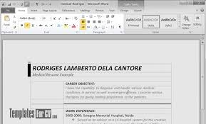 how to edit microsoft word table templates for cv